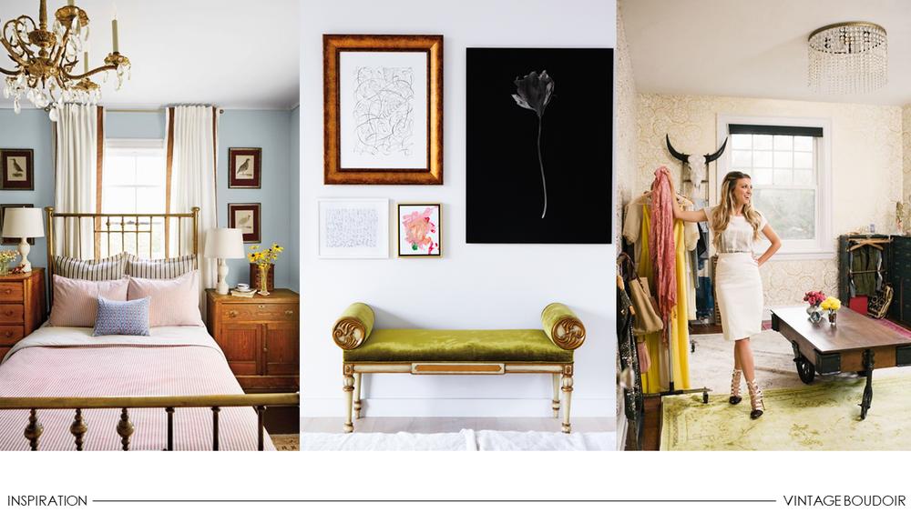 Michelle Gage // One Room Challenge: Introducing #VintageBoudoir