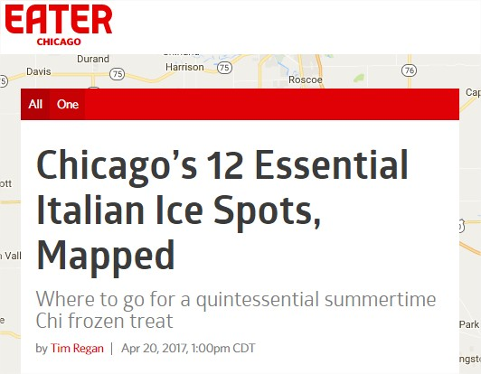 We made the list! - Thanks for the recognition, Chicago Eater <3