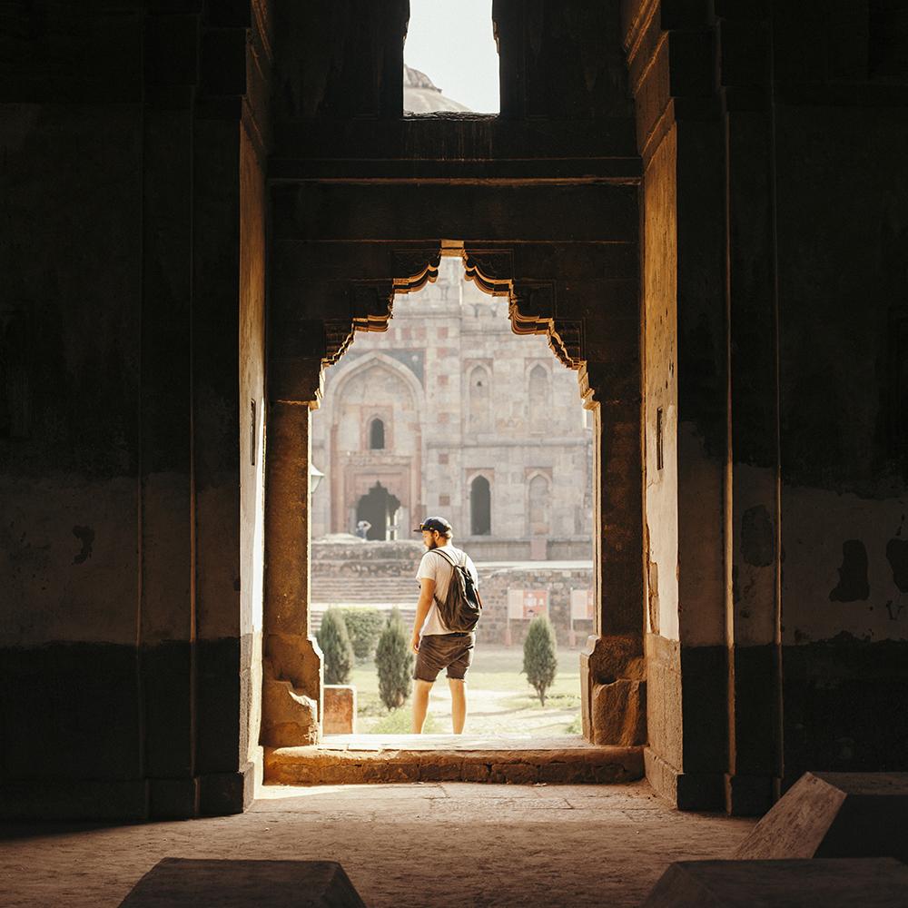 India Delhi Handzaround