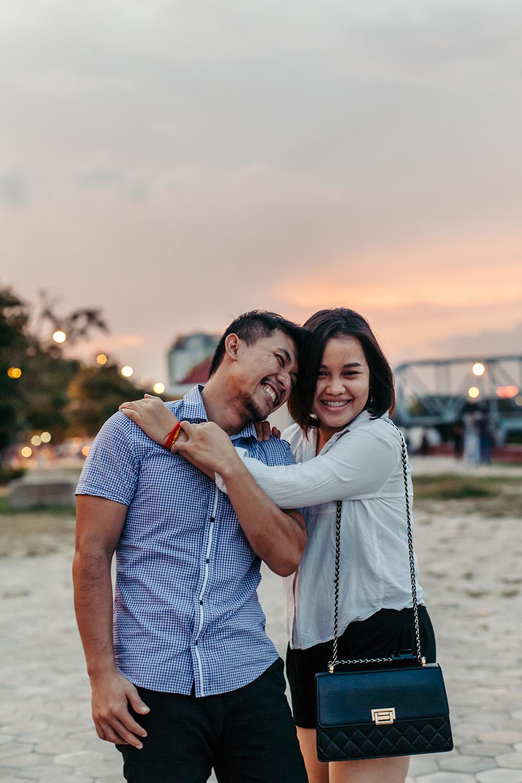 Pancha and Phalita in Phnom Penh