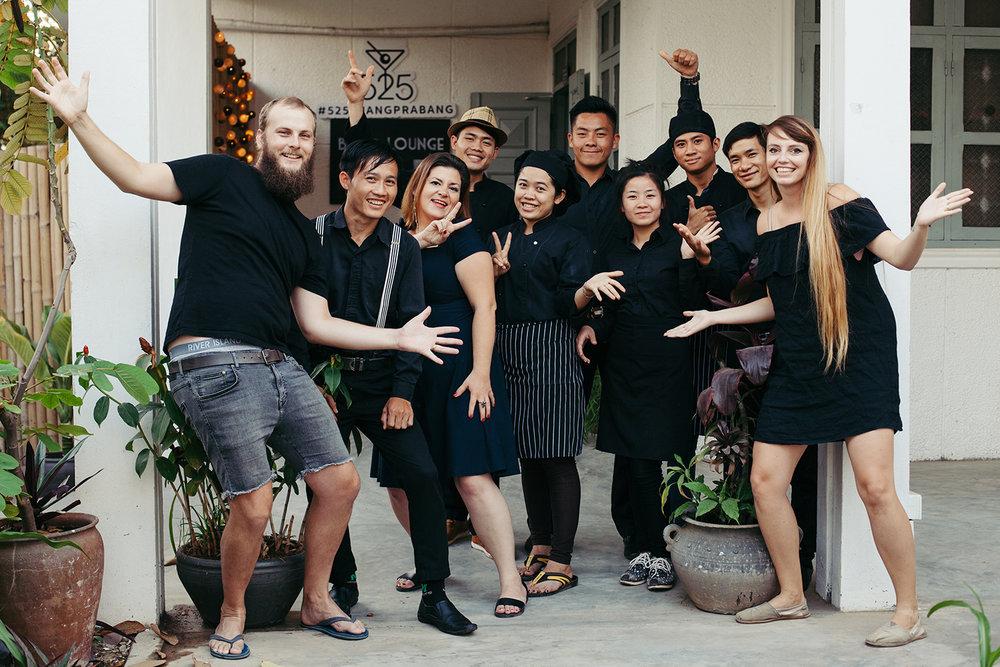 With 525 Bar's team