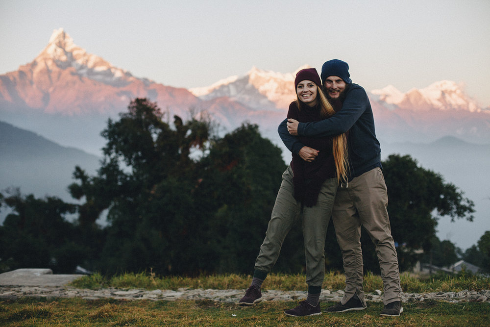 Cold weather in Australia Camp, near Pokhara