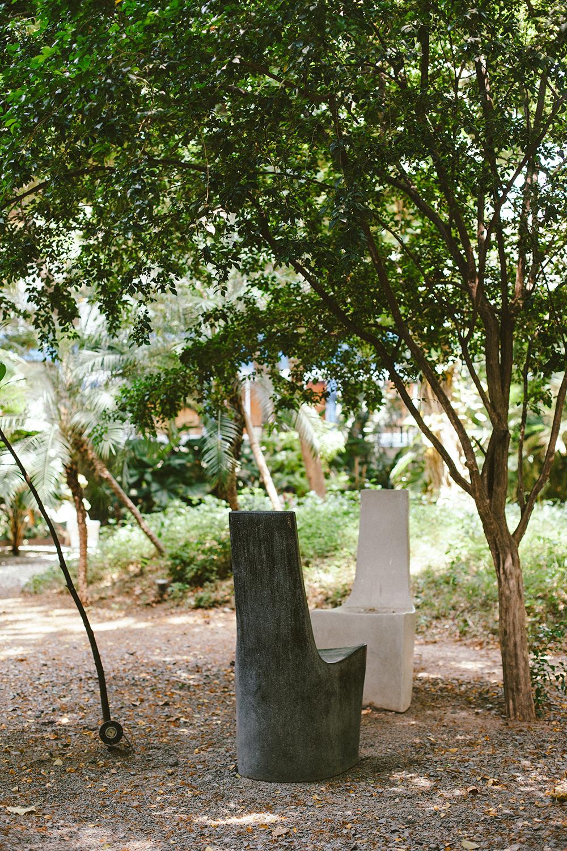 French Institute of Cambodia's garden
