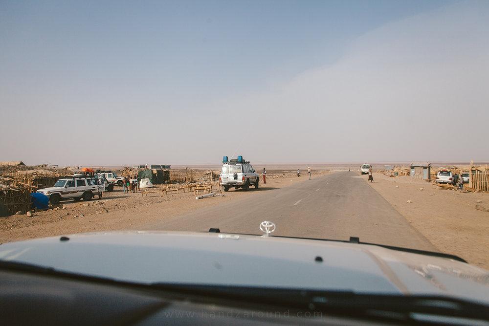 Entering Hamed Ela military camp