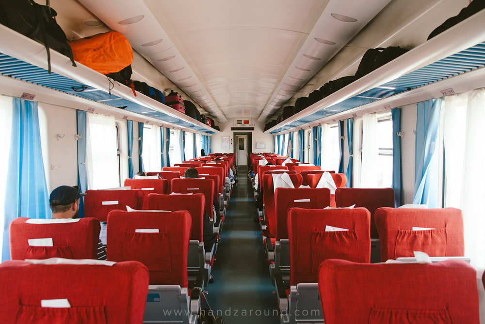 1st class of the new SGR Nairobi to Mombasa train