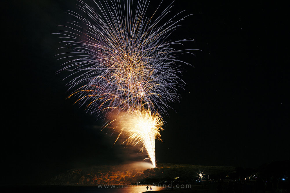 New Year Eve's fireworks in Barwon Heads
