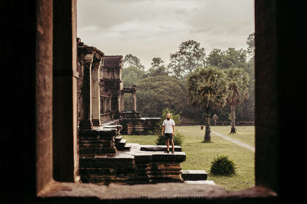 Zach in Angkor Wat