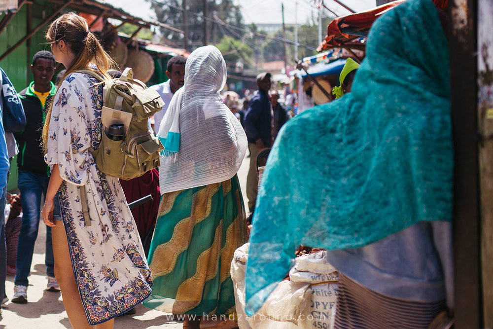 Shola Market in Addis Ababa, Ethiopia