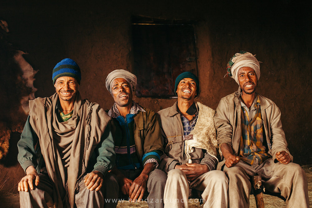 Farmers from Degosach Lodge in Northern Ethiopia