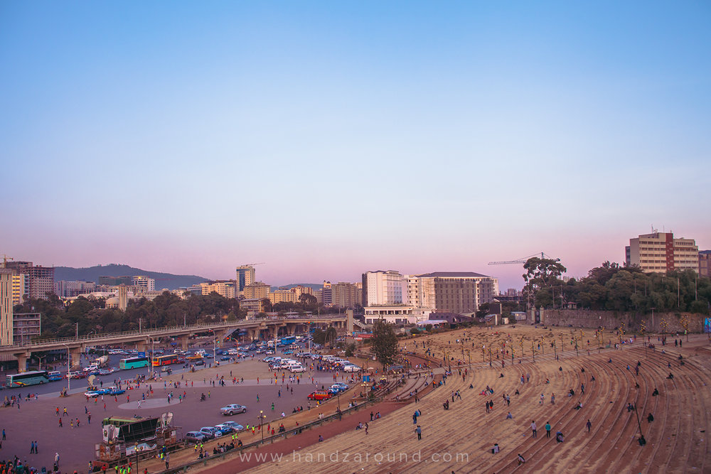 3. Addis is a huge metropolis -