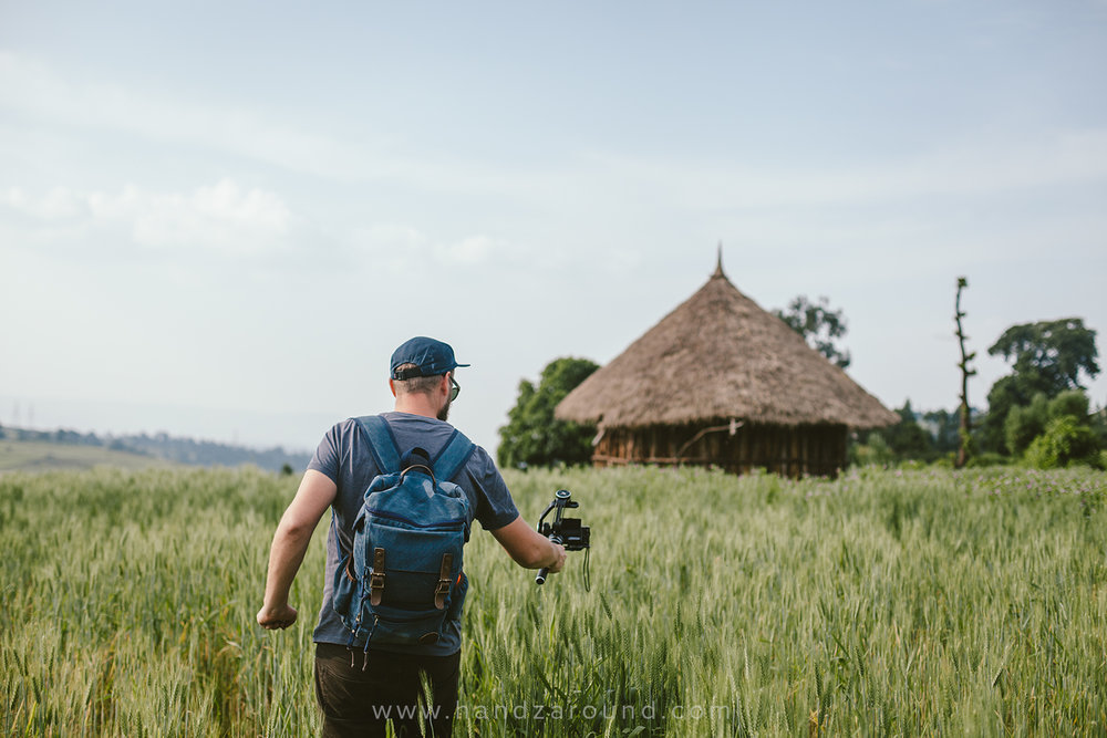 Feiyu Tech MG Lite Gimbal - Zach gimbal-ing his way through the villages of Oromia in Ethiopia