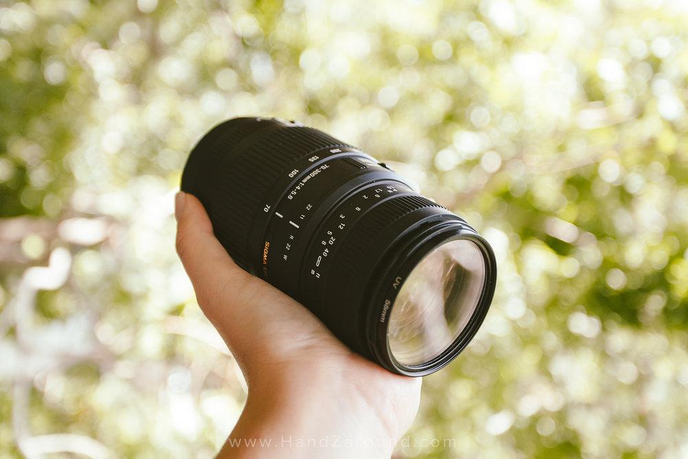 Sigma DG 70-300mm f/4-5.6 -