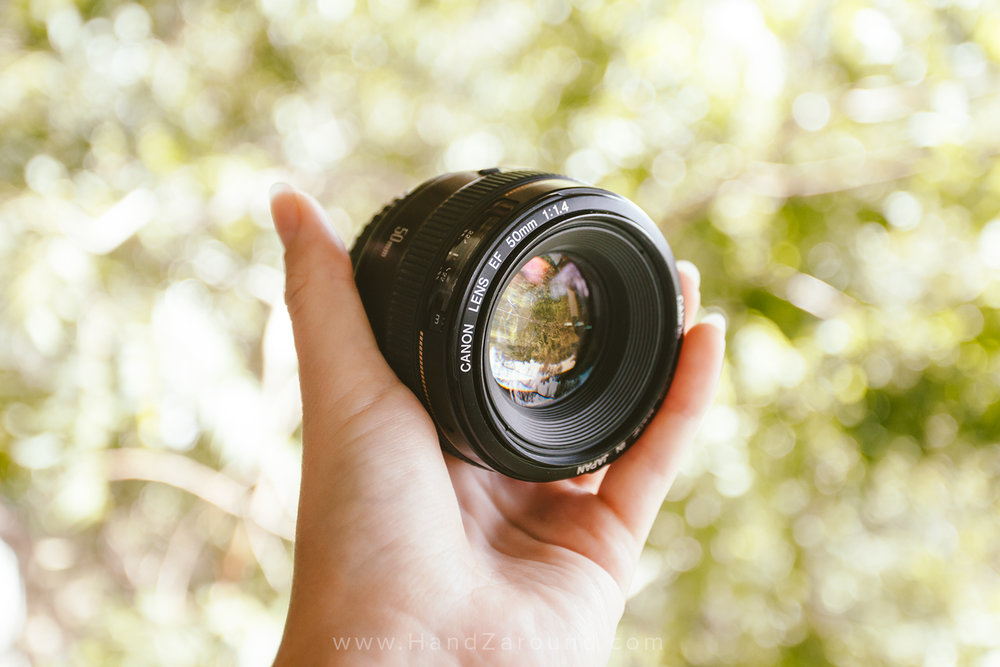 Canon EF 50mm f/1.4 -