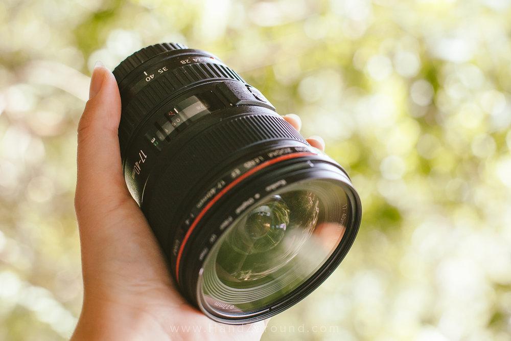 Canon Zoom Lens EF 17-40mm f/4 L USM -