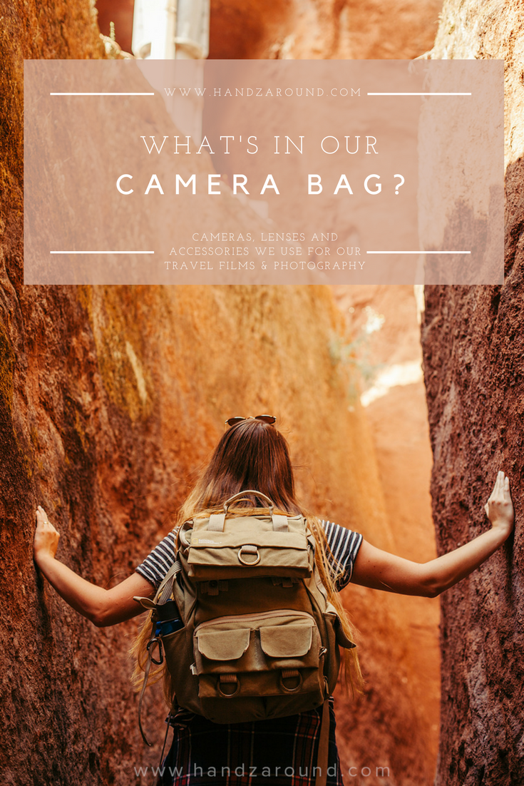 What's In Our Camera Bag? by HandZaround