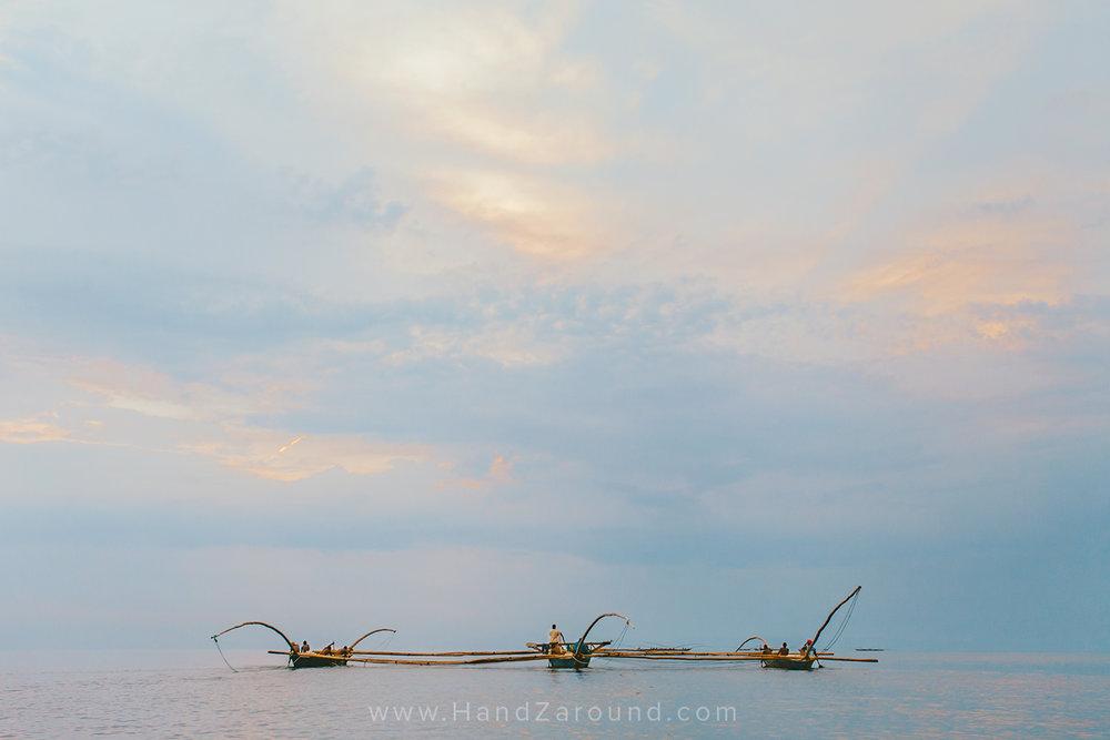 Fishermen on Lake Kivu