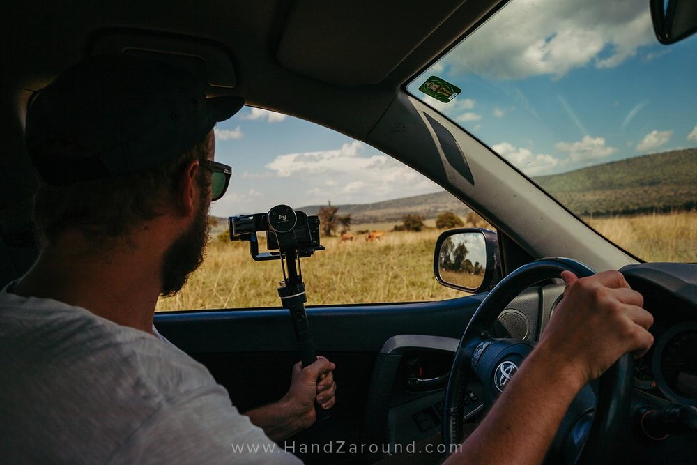 When you self-drive you can multi-task! :)