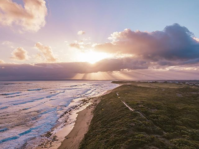 Any guesses to why this awesome place is aptly named 13th Beach? • • • • • • • • • • • • #HandZaround #HandZaroundAustralia • • • #australia#victoria#visitvictoria#explorevictoria#seeaustralia#geelong#bellarine#visitgeelong#visitgeelongbellarine#focusaustralia#australiagram#exploreaustralia#discoveraustralia#exploremore#letsgosomewhere#stayandwander#theoutbound#keepitwild#getoutside#optoutside#getoutstayout#travelstoke#goexplore#traveldeeper #13thbeach  #sunset #surfcoast #barwonheads