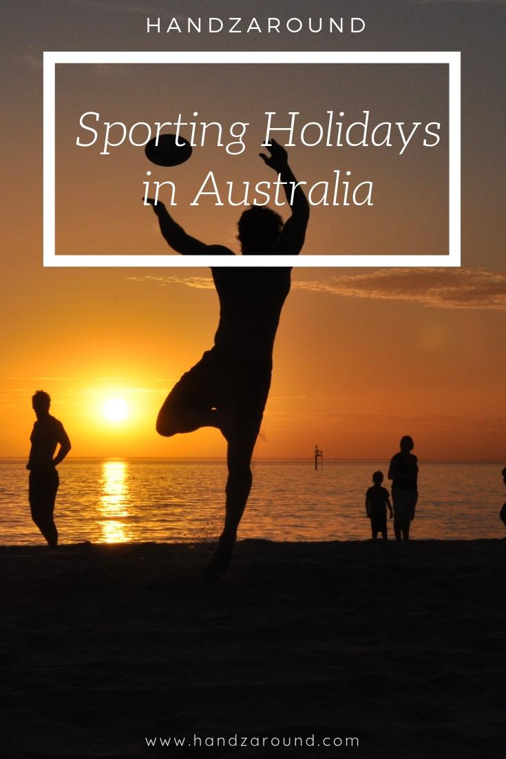 HandZaround Sporting Holiday in Australia