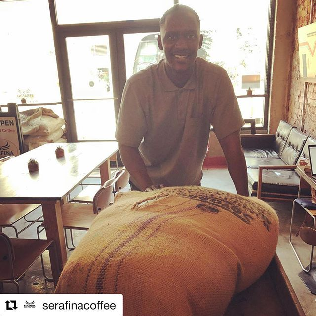 #Repost @serafinacoffee with @get_repost ・・・ Coffee is all about great relationships. Coffee from Uganda delivered! #serafinacoffeeroasters #bestespresso #luhrs #smallbatchcoffee #singleorigincoffee #matendocoffeeimporters