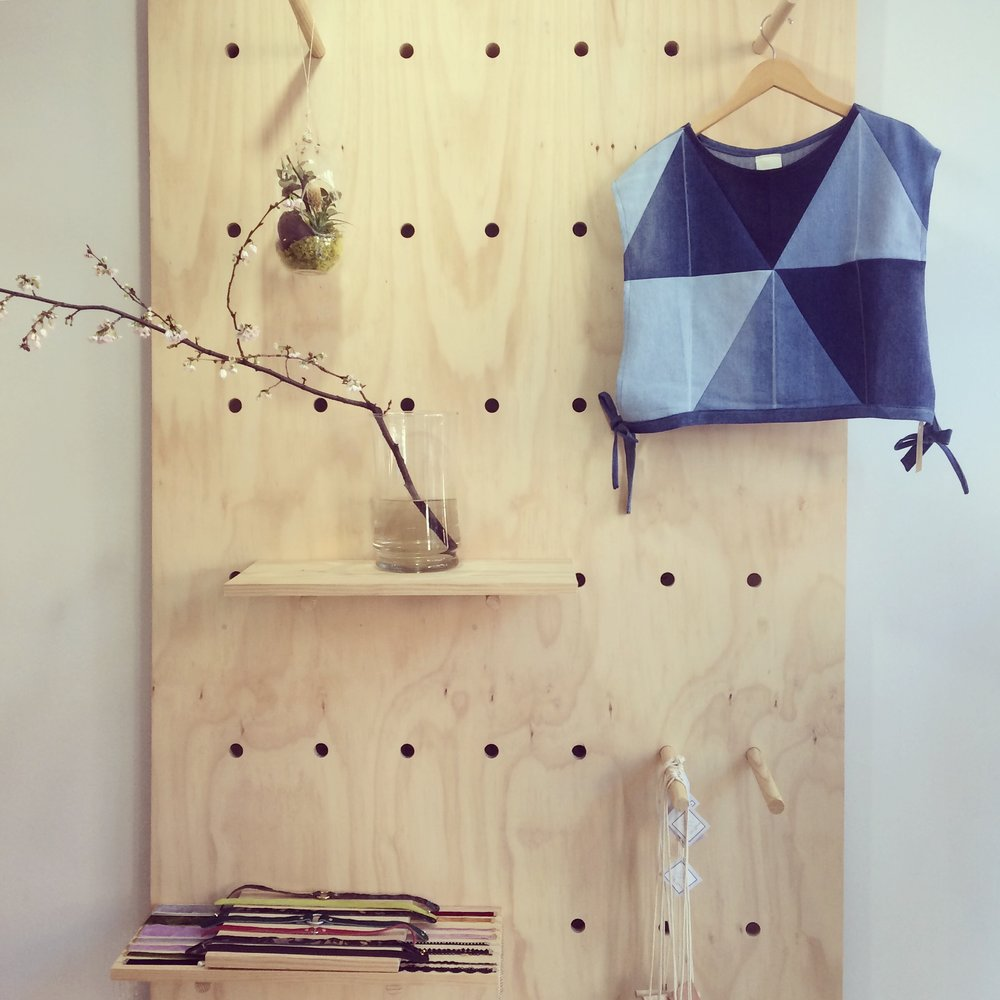 One of my Penrose Esme Wrap Tops hanging in  M Concept Shop  in Philadelphia.