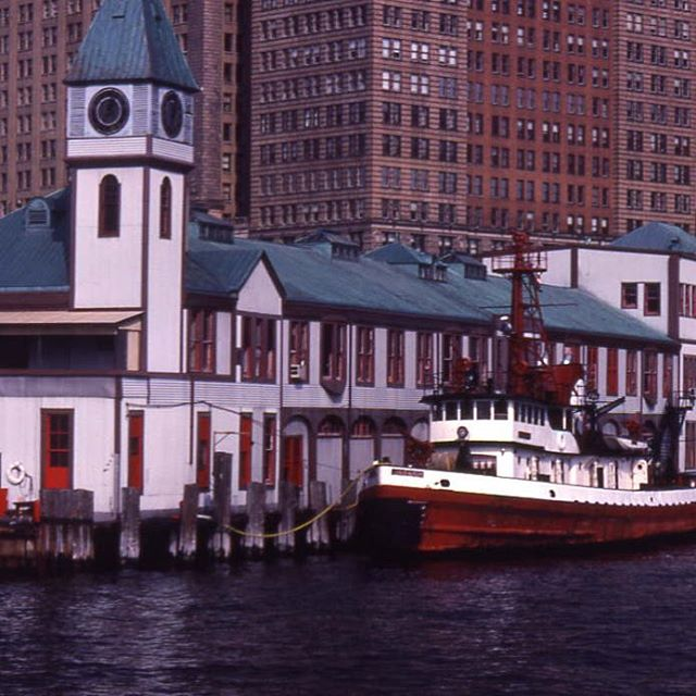 Throwback to when Pier A was a part of the New York City Fire Department. They used the Pier from 1960 to 1992 as a Fireboat Station . Certainly a few changes have been made since then. But it's always amazing to look to the past to see where we've come from. 🗽