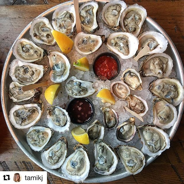 It really is, when we do oysters... We do them well! Drop in soon and check it for yourself! 😎 . #Repost @tamikj ・・・ A work of art - no? #dindin #eeeeeats #MDW I love @piera_nyc . . . . #oysters #nomnom  #NYC #newyorkcity