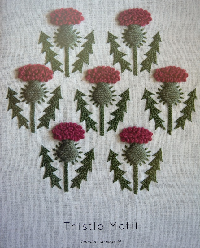I have a soft spot for thistles because I use to live in Scotland and that is their national flower.