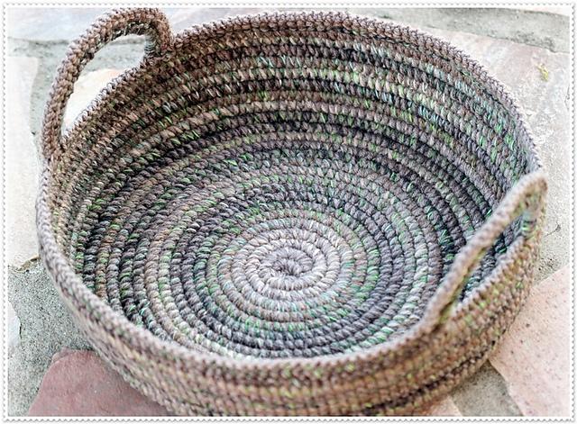Basket Rustico by Ronny Makoschey