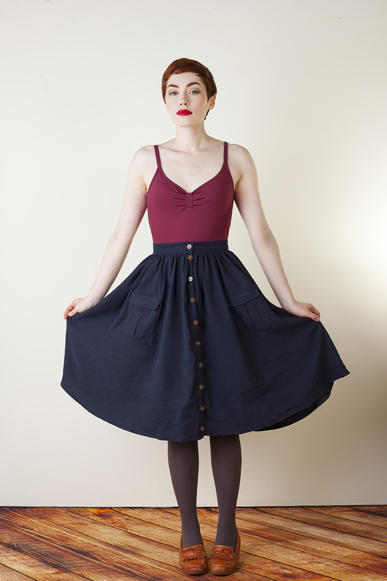 zinnia sewing pattern