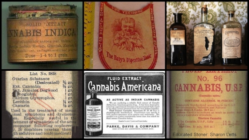 Vintage Medicine - There were more than 250 remedies available with cannabis in the mix up until the late 1930s.Apothecary, the practice of formulating plant-based concentrates as remedy, is what most of the pharmaceutical companies we know today were founded on.