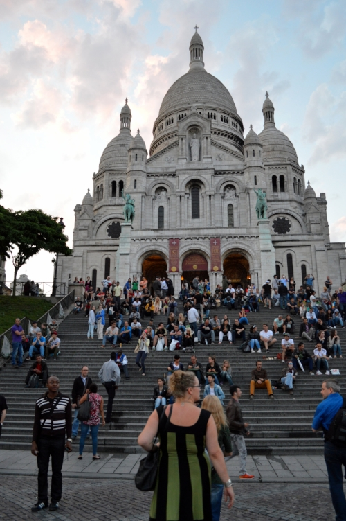 - Small amounts of flower and hash can be purchased for a high price on the steps of the historic Sacre Coeur, the Sacred Heart Cathedral, where the French and tourists partake with a spectacular view of the city.