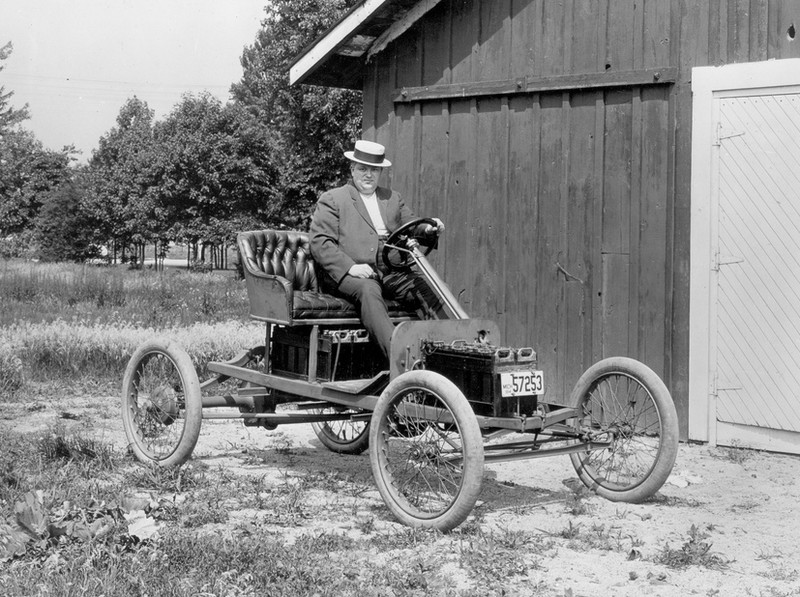 Henry ford (shown here) and thomas edison were friends who shared the same desire of using plants as building materials and fuel. photo: submitted