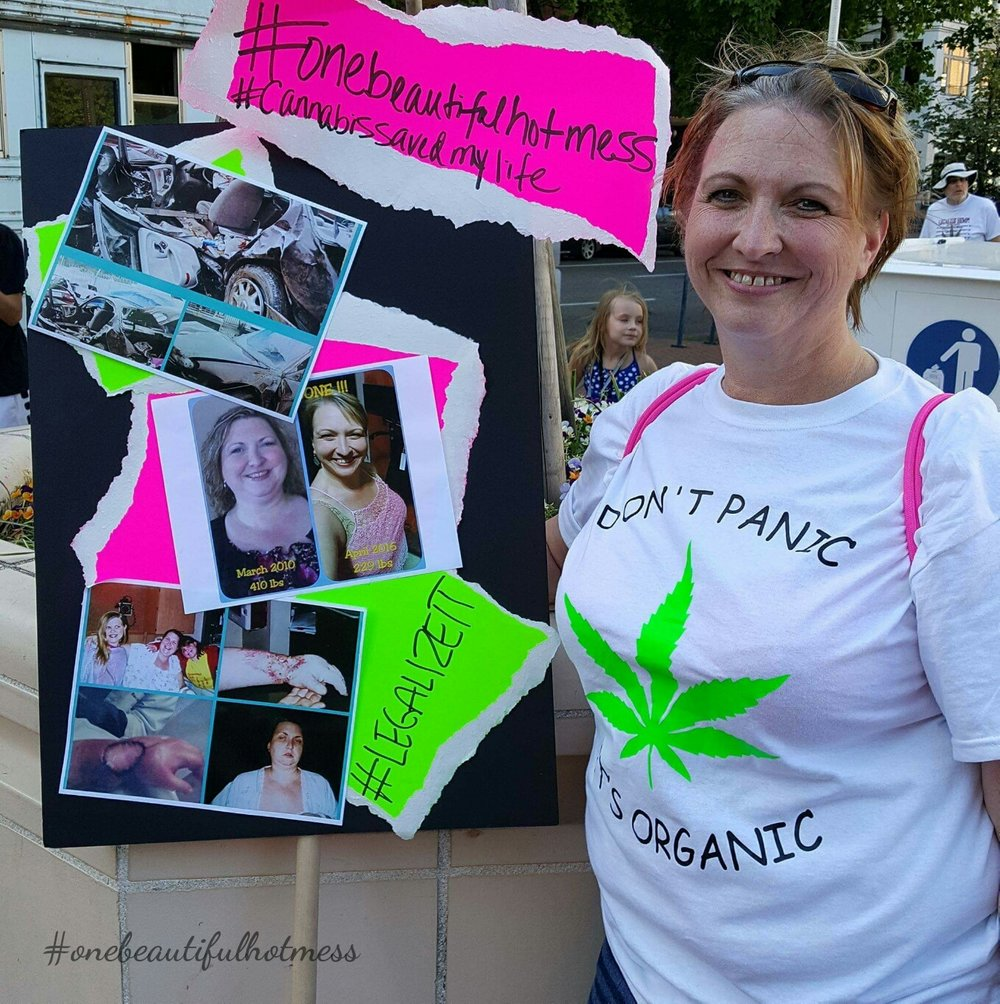 - Amy today, as cannabis advocate. She was the first medical patient to register for her home State of Maryland's medical cannabis program.