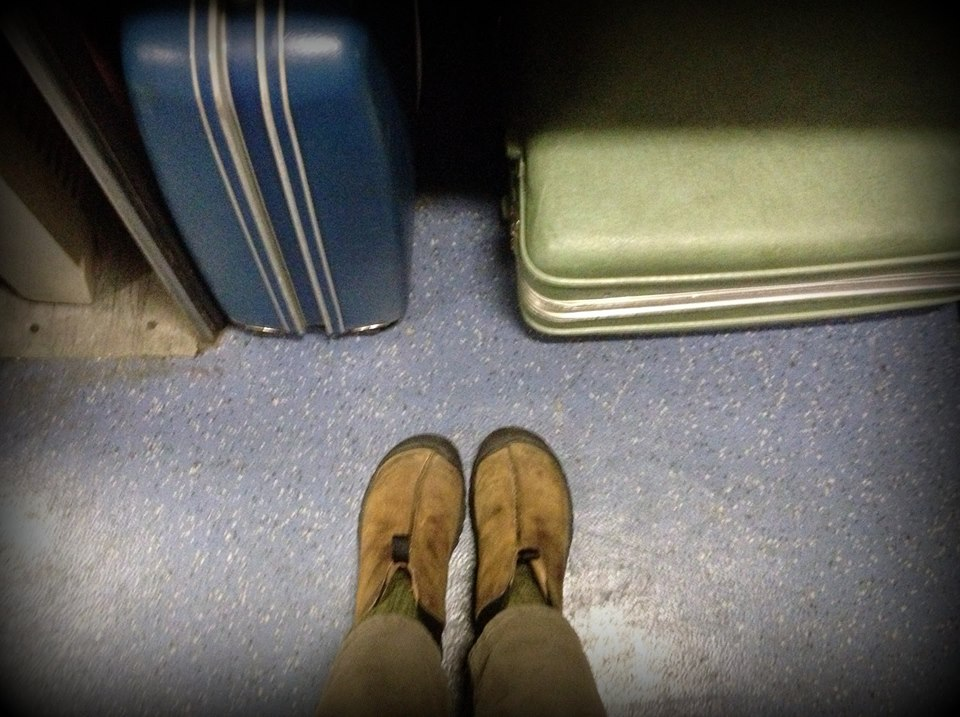 somewhere on a train from colorado to california, photo: sharon letts