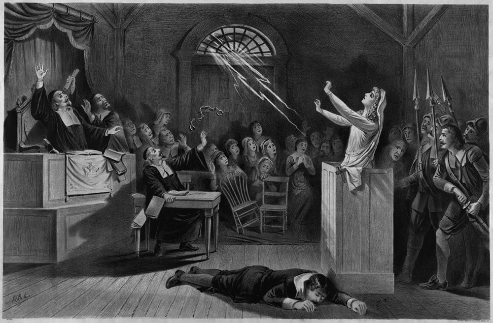 Salem witch hunt 1892