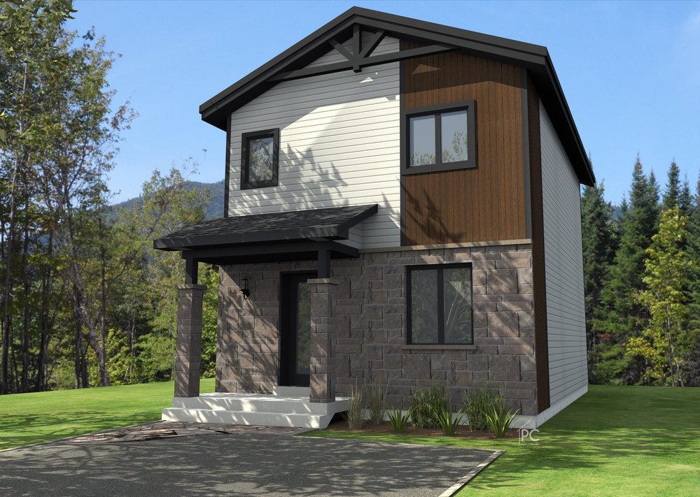 Ralisation  Projet D  Distinction Architecture  Plan De Maison