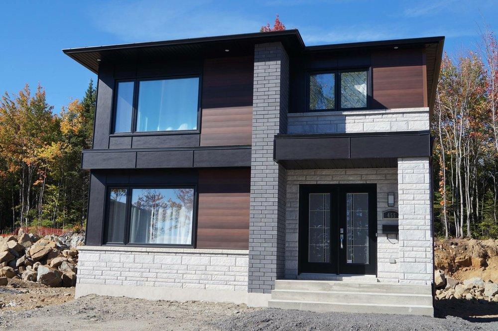 r alisations constructions finales distinction architecture plan de maison qu bec. Black Bedroom Furniture Sets. Home Design Ideas