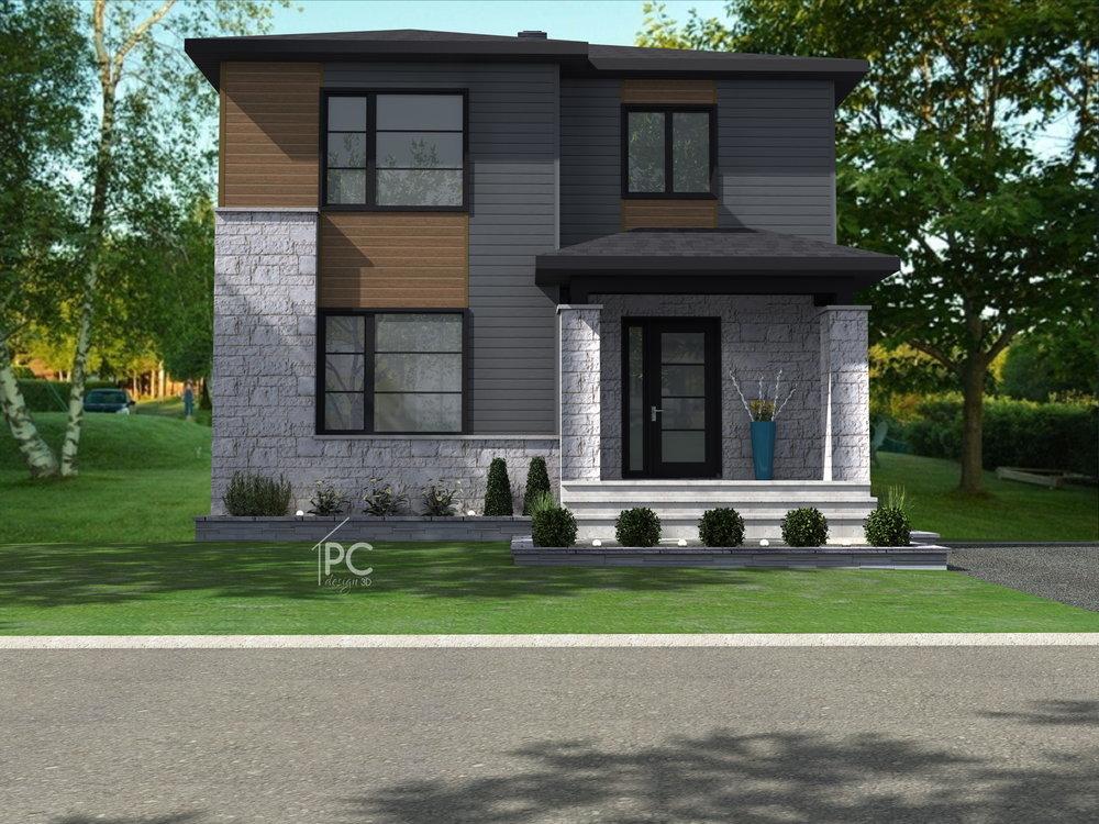Plans de maisons unifamiliales distinction architecture