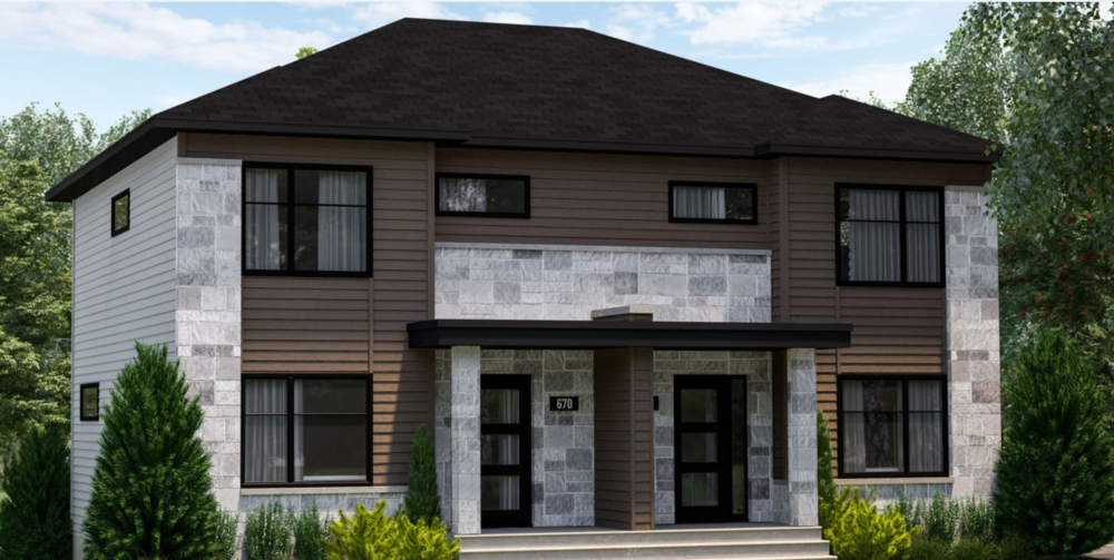 Plans de maisons multifamiliales distinction architecture