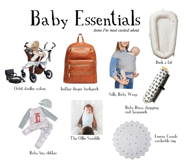 baby must have essentials
