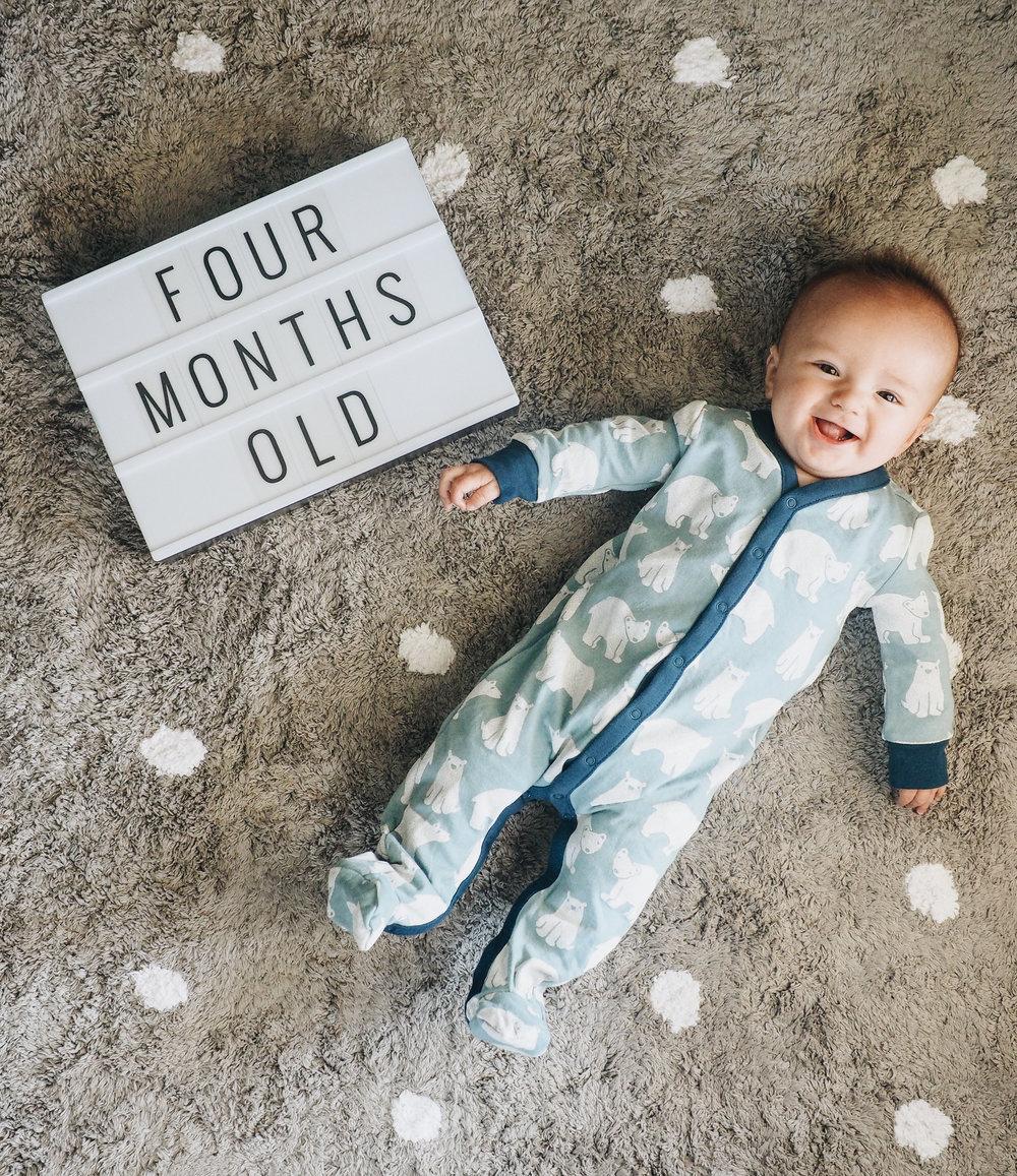 Baby Jett 4 months