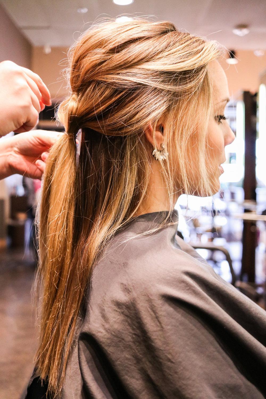 valentines day hair tutorial