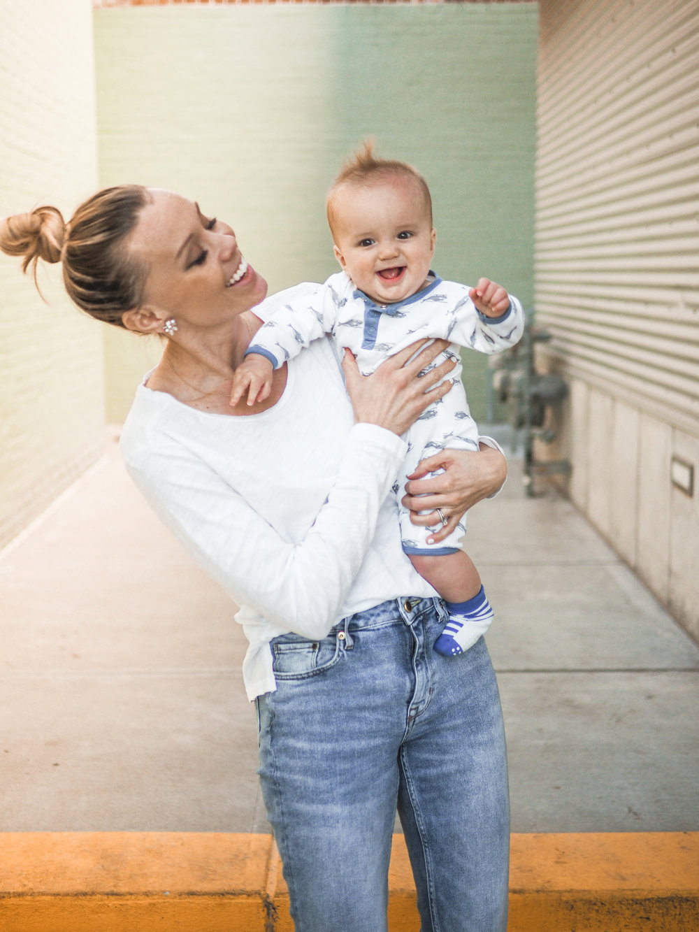 baby Jett and basics for spring