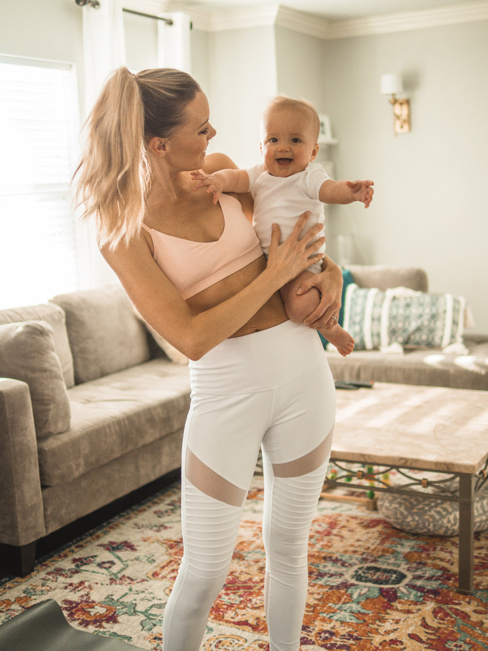 workouts for new moms