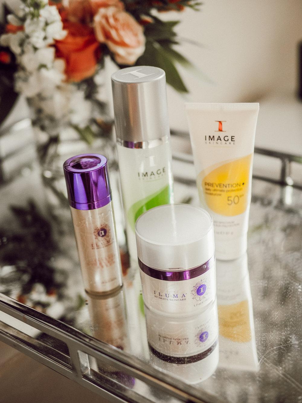 image skincare routine