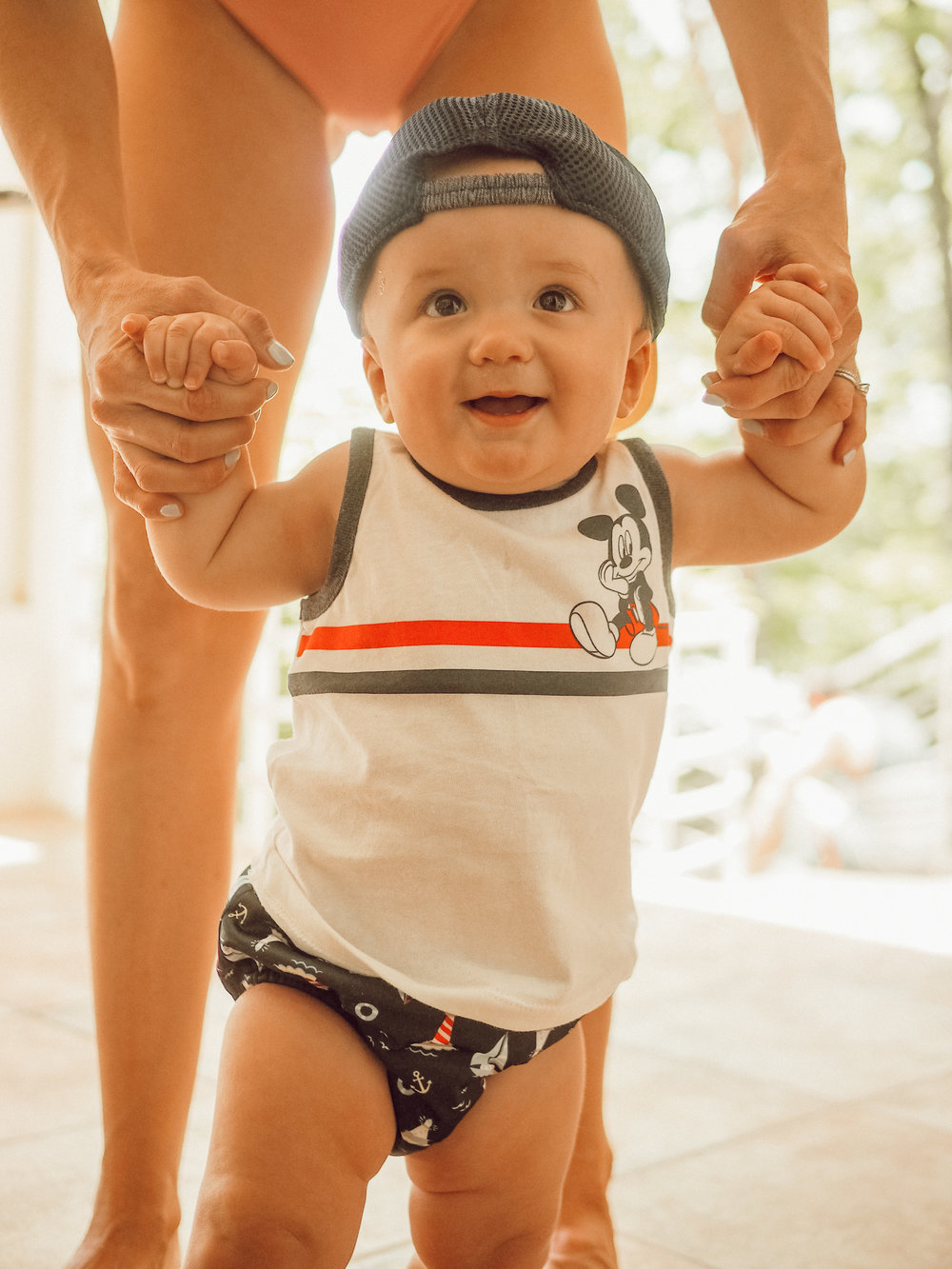 baby boy mickey mouse tank