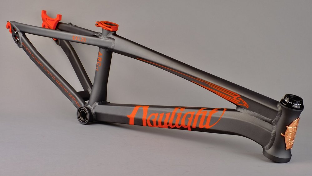 The Daylight ARC c1 - ArcStorm Series in Storm Gray + Solar Orange