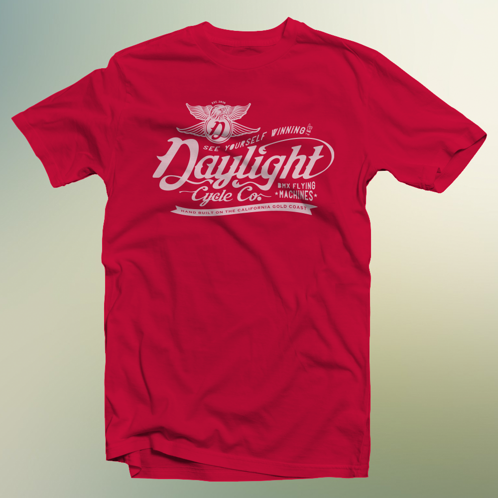 Signature Daylight T: Sky Red $25