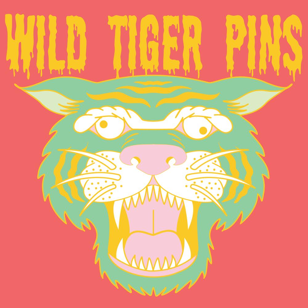 Wild Tiger Pins
